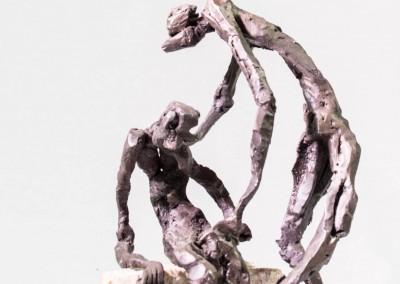 Skulptur aus Eisen